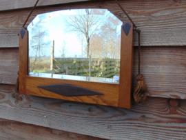 Art Decó spiegel met kwastjes