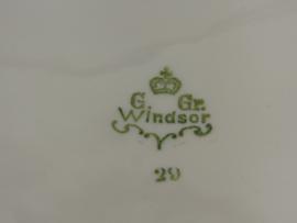 Antieke porseleinen dekschalen set Windsor England