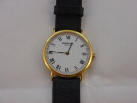 Vergoldete Raymond Weil-Uhr