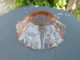 "Beautiful glass Art Decó ""Pavilux"" bowl"