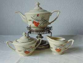 Antique Czech tea set.