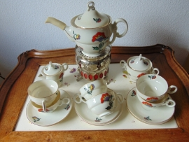 Antique Pirckenhammer tea service