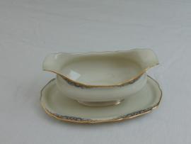 Klassiek Hutschenreuter porceleinen sauskom