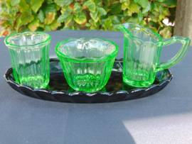 Uranium glass cream