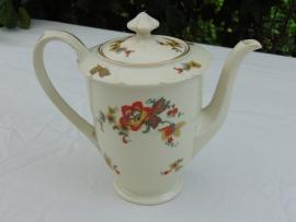 Antieke porseleinen Tielsch-Altwasser koffiepot