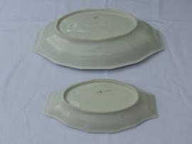 Antique porcelain serving dishes