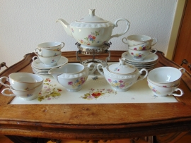 Antique Czech tea service