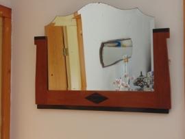 Art Decó hall mirror