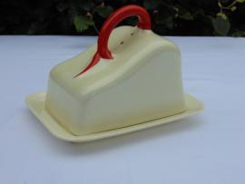 Cheese Jar Société Ceramique Maastricht