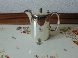 Antique silver plated hotel coffee pot