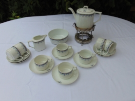 Antique Czech antique tea set