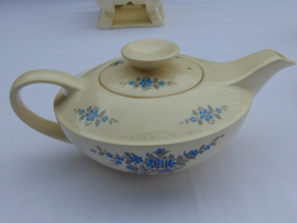 "Petrus Regout tea service ""Do not forget me"""