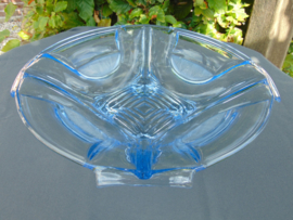 Beautiful Art Deco glass (fruit) dish