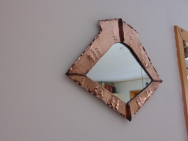 Amsterdam School mirror