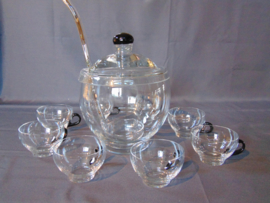 Leerdam clear glass Bowl set
