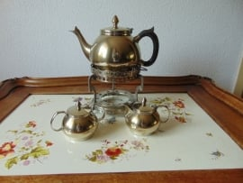 Vintage silverplated tea service