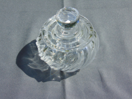 Crystal sugar bowl