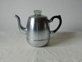 Vintage single-walled aluminum Bredemijer coffee pot