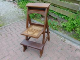 Vintage bidstoel