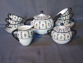 "Vintage Petrus Regout ""Modest"" tea set"
