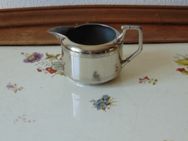 Antique chrome-plated tableware