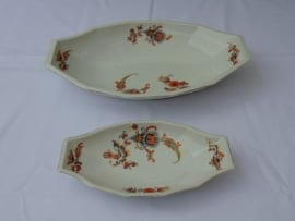 Antique porcelain serving dishes