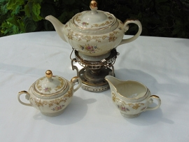 Antique Czech porcelain tea set MCP 1890