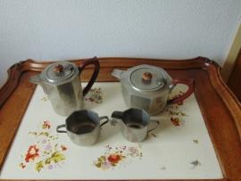 Art Deco Pewter tea set