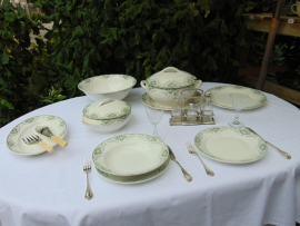 Antique crockery Mimosas