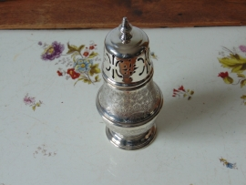 Vintage silver plated sugar caster
