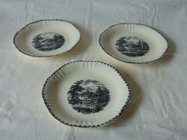 Antique Société Ceramique Maastricht crockery parts