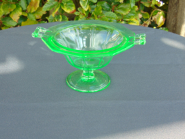 Annagreen glass bonbon dish