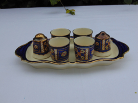 Royal Winton Ivory Ware eierset