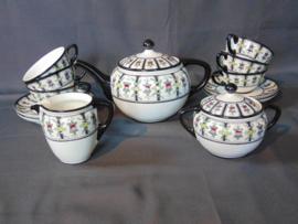 """Vintage Petrus Regout """"Modest"""" tea set"""