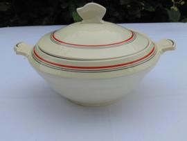 "Société Ceramique Maestricht Art Decó dekschaal ""Gouda"