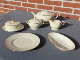 Antique dinner and breakfast sets