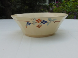 Antique salad bowl Sarraguemines