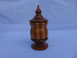 Vintage Holztabaktopf