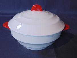"""Société Ceramique Maestricht Art Decó dekschaal  """"Julian"""""""