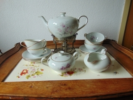 Antique Wawel tea service