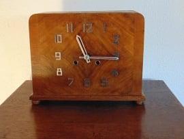 Rechteckige Vintage Uhr