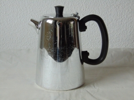 Vintage chrome hotel coffee pot
