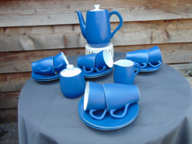 Royal Goedewaagen tea service Fiêsta Blue Sky
