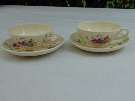 Antique Société Céramique Maestricht teacups