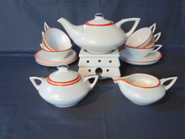 "Plazuid art decó tea set ""Vermu"""