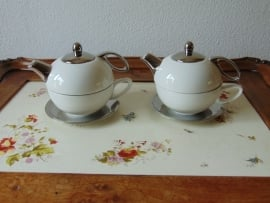 Modern single tea set