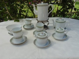 An antique French coffee service