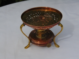 Antique copper tealight