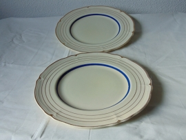 Antique dinner plates Grinley England