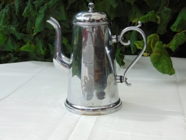 Vintage chromed coffeepot